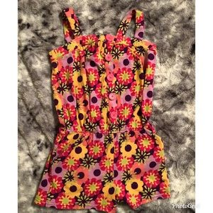 Circo Floral Romper (Size 7/8)